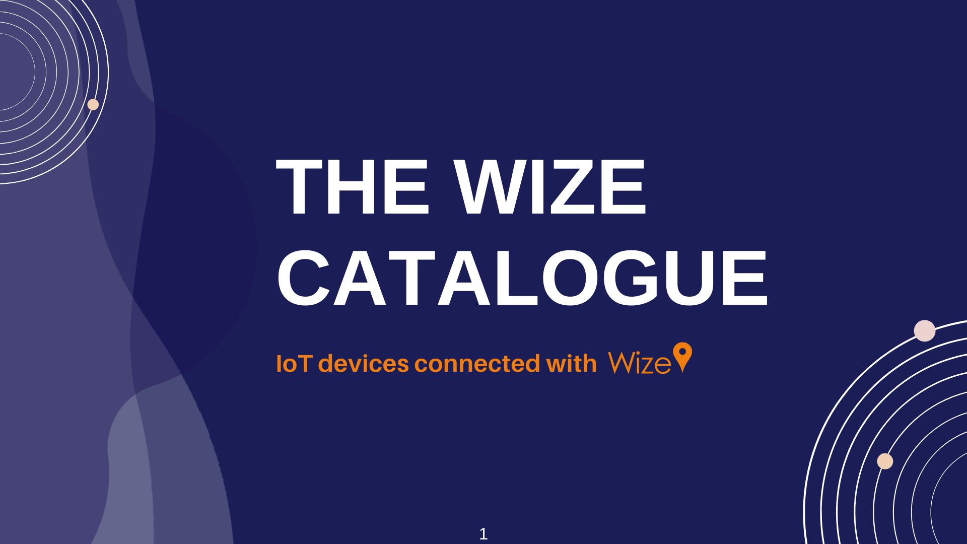 The Wize Catalogue