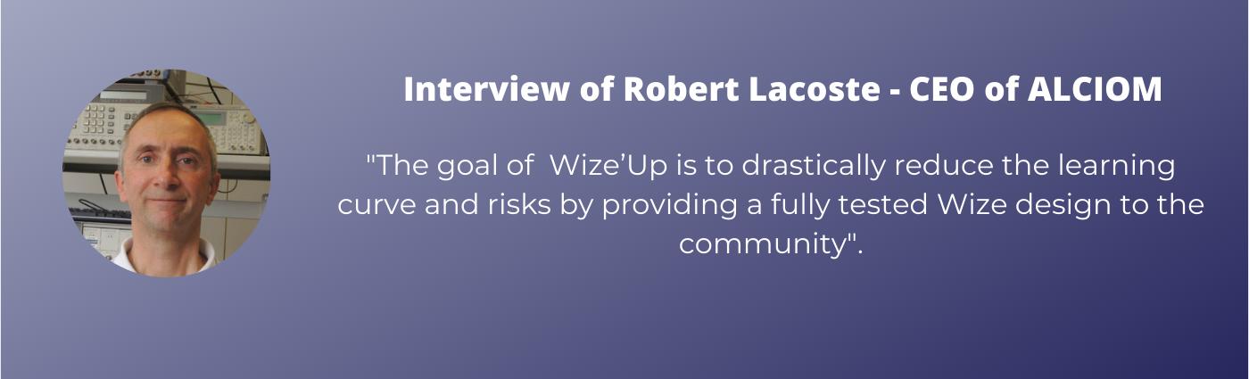 Interview Robert Lacoste, ALCIOM